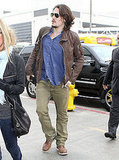 Pictures of John Mayer Departing Out of LAX After the Grammys