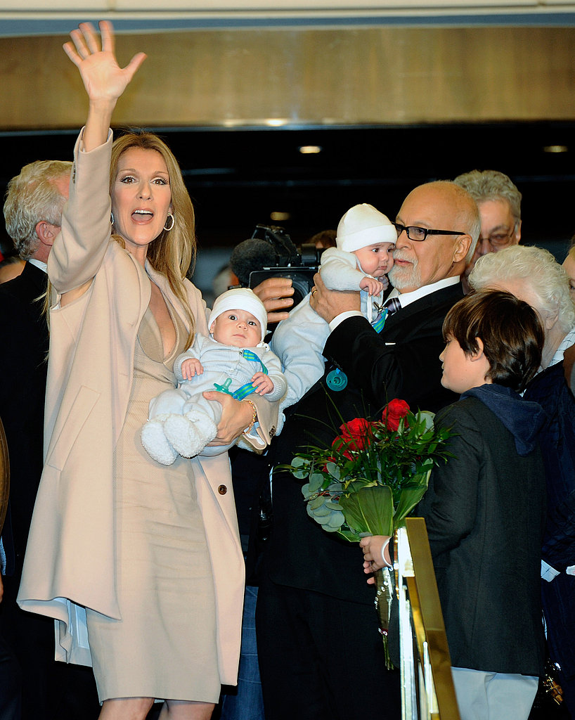 Celine Dion Brings Nelson, Eddy, and Rene-Charles Back to Vegas!