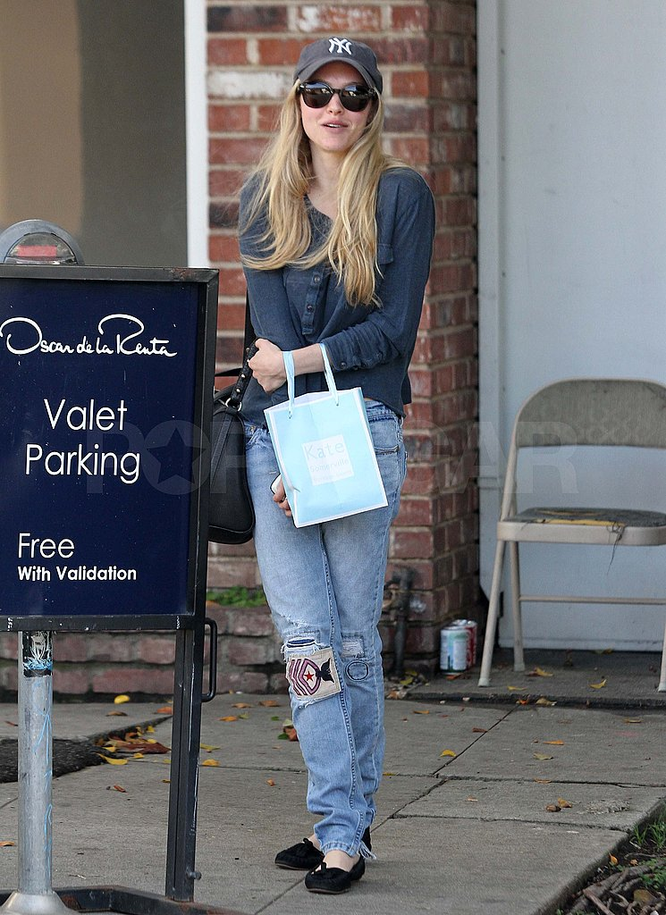 Amanda Seyfried Flashes a Smile Despite Rumors of a Split From Ryan Phillippe