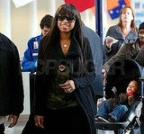 Jennifer Hudson Heads to Chicago With Her Adorable Son David