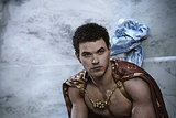 Kellan Lutz as Poseidon in Immortals. Photo courtesy of Relativity