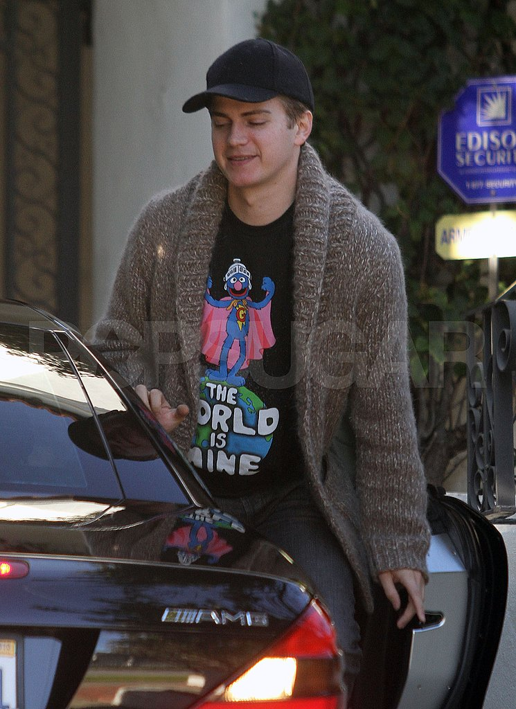 Rachel Bilson Spends a Day in LA With Hayden Christensen