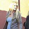 Pictures of Britney Spears at an LA Recording Studio as Her &quot;Hold It Against Me&quot; Video Drops