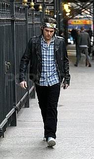 Pictures of John Mayer Talking a Solo Walk in NYC