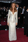 Celine Dion in Armani Prive