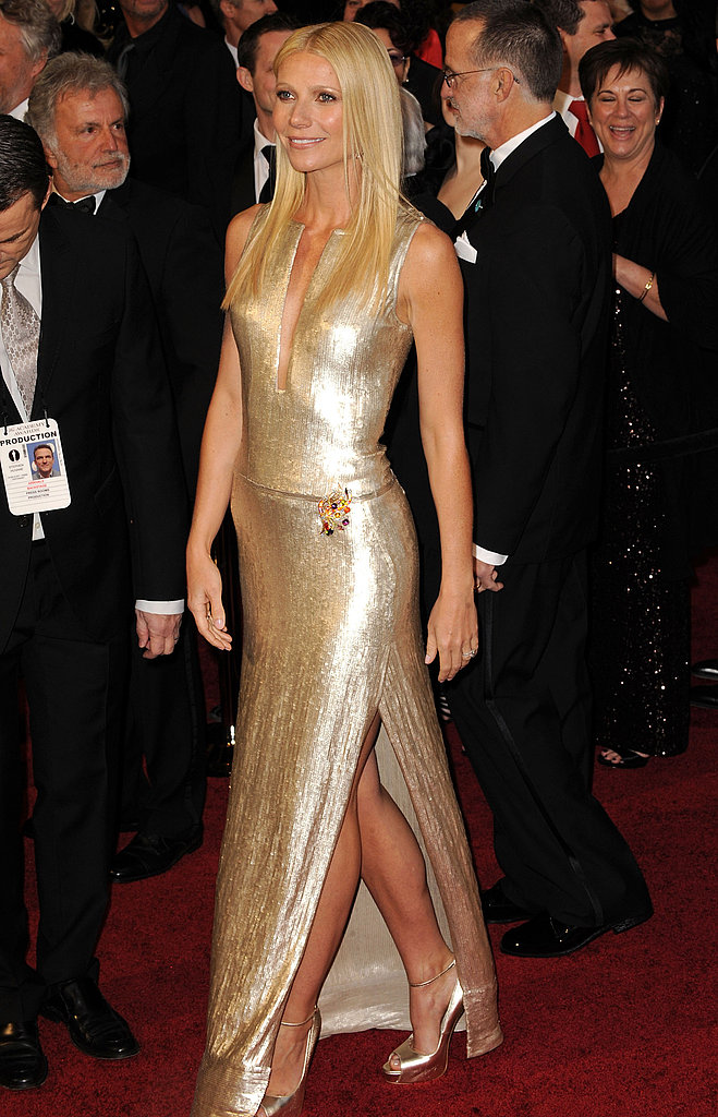 Gwyneth Paltrow: Much like Blanchett, she's carved herself a place as an Oscars fashion favorite, and this metallic custom Calvin Klein Collection number kept her crown firmly in place.