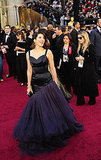 Marisa Tomei: Because historically, some of the best and most memorable Oscar gowns have been vintage, and her retro Charles James dress from the 1950s is no exception.