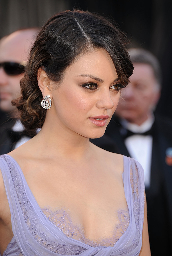 Mila Kunis From the Side