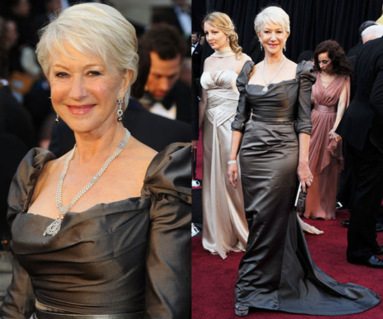 Helen Mirren in Vivienne Westwood at Oscars 2011