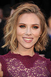 Scarlett Johansson Goes Floral on the Red Carpet