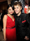 Justin Bieber and Selena Gomez Snuggle, Hold Hands at Vanity Fair Oscars Party!