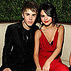 Pictures of Justin Bieber and Selena Gomez at Vanity Fair Oscar Party