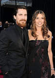 Christian Bale and Sibi Bale