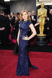 Amy Adams Is an Oscars Red-Carpet Dazzler