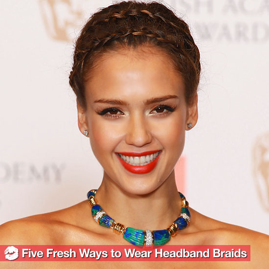 5 Ways to Wear the Uberpopular Headband Braid