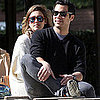 Pictures of Jessica Alba, Cash Warren, and Honor Warren at a Park in LA
