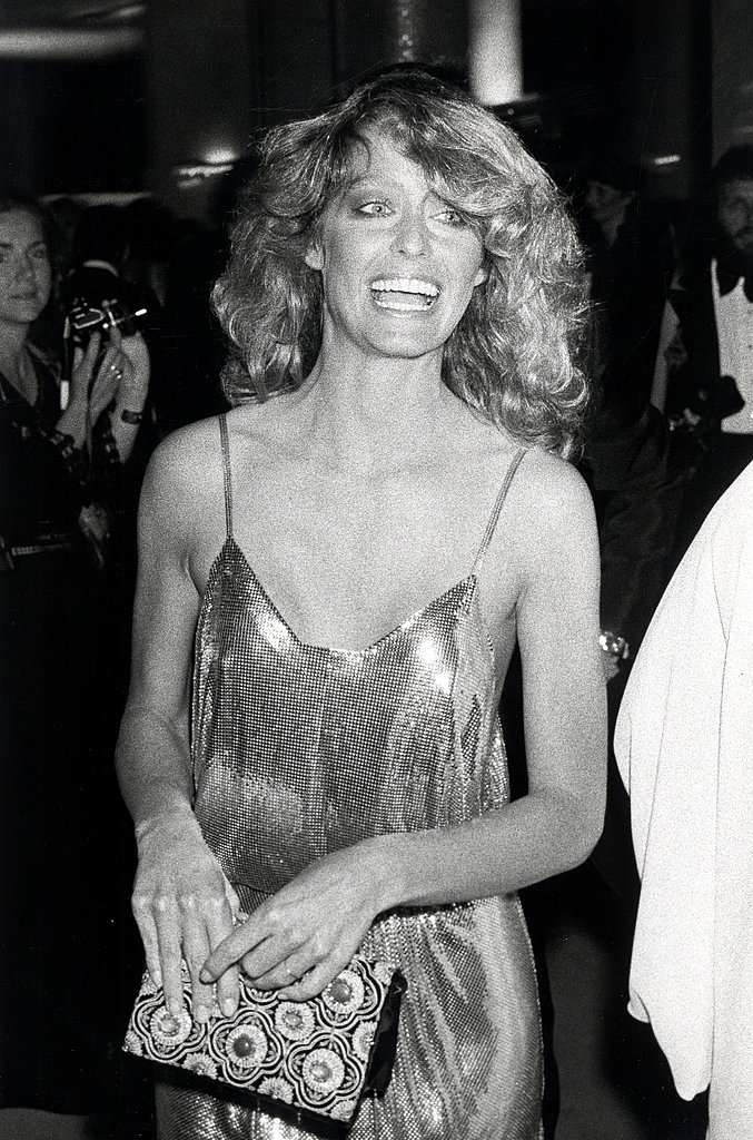Farrah Fawcett in Stephen Burrows, 1978