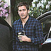 Pictures of Jake Gyllenhaal Wearing Plaid at Four Seasons