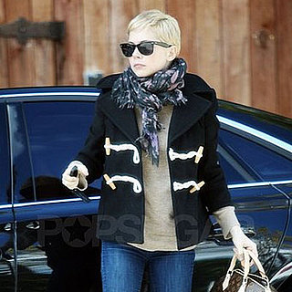 Pictures of Michelle Williams Shopping in West Hollywood Before the Oscars