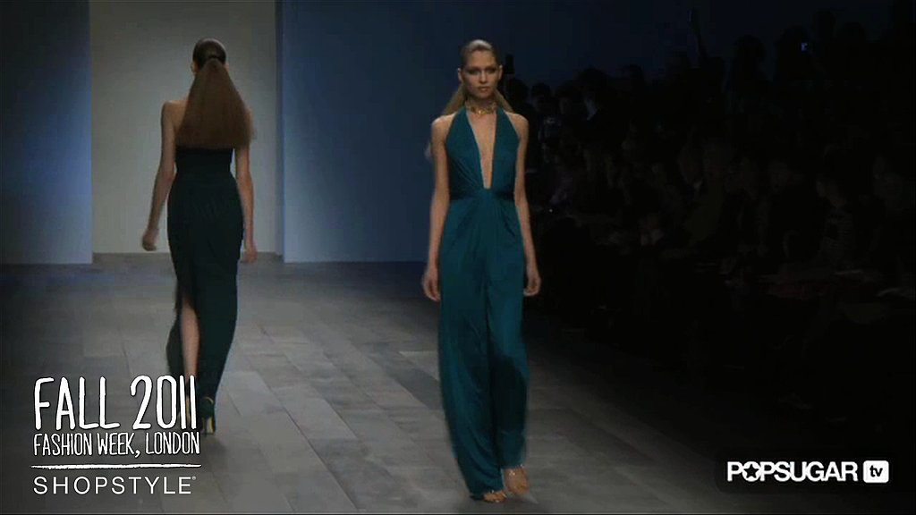 Issa Fall 2011 Runway London Fashion Week Video