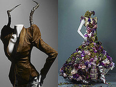 Alexander McQueen Tribute for Met Costume Institute Ball Debuts in London First