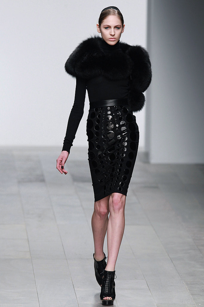 Fall 2011 London Fashion Week: David Koma