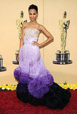 Zoe Saldana in Givenchy couture, 2010