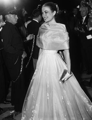 Grace Kelly in Helen Rose, 1956