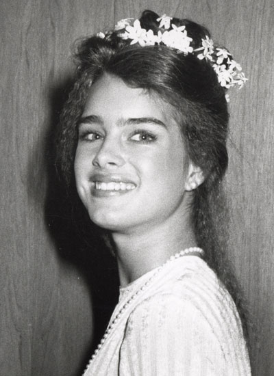 1979: Brooke Shields