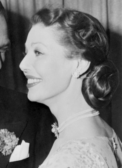 Loretta Young, Undated