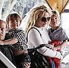 Pictures of Britney Spears, Jayden James, and Sean Preston in Lousiana