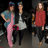 Pictures of London Fashion Week Front Rows on Final Day Including Paloma Faith, Marina Diamandis, Olivia Palermo
