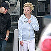 Pictures of Britney Spears Leaving Studio