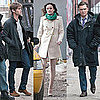 Pictures of Ed Westwick, Leighton Meester, and Chace Crawford Shooting Gossip Girl in Brooklyn