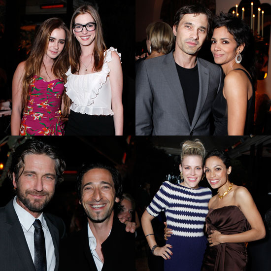 Pictures of Halle Berry, Olivier Martinez, Anne Hathaway, Busy Philipps, and More at Dior's Oscars Dinner