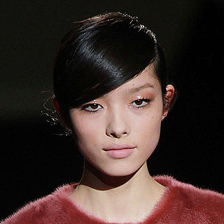 2011 Fall Milan Fashion Week: The Makeup at Alberta Ferretti