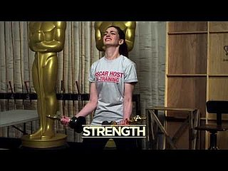 Anne Hathaway and James Franco Attend Oscar Boot Camp