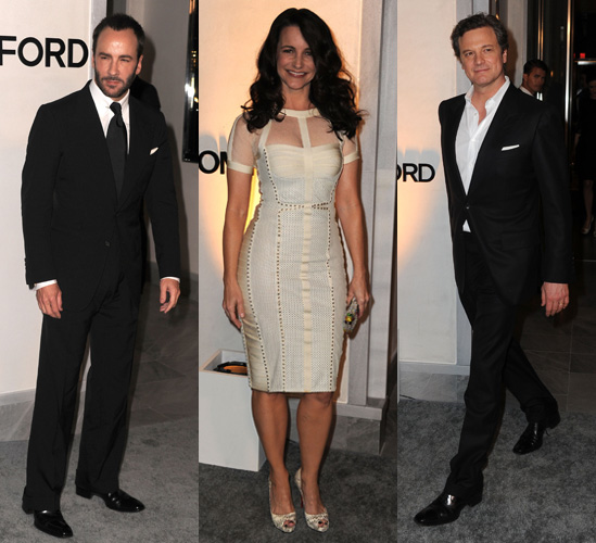 Photos of Tom Ford&#039;s Los Angeles Boutique Opening with Colin Firth, Eva Longoria and Rachel Zoe