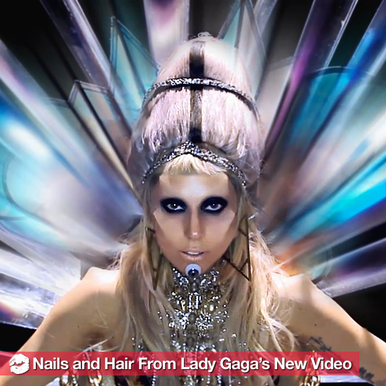 "The Sci-Fi Manicures and Hair From Lady Gaga's New ""Born This Way"" Video"
