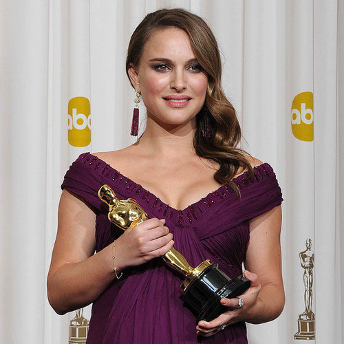 "Natalie Portman Calls Her Baby A ""Little Dancer"" In the Oscar Press Room 2011-02-27 22:15:13"