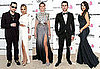 Pictures of Nicole Richie, Heidi Klum, Chace Crawford on the Red Carpet at Elton John's Oscars Bash