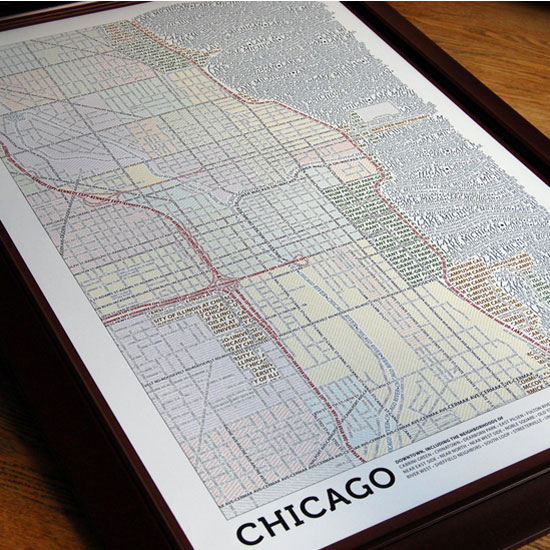 Axis Typographic City Maps ($30)