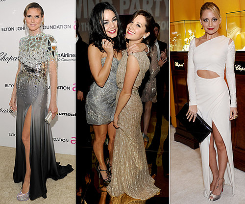 Pictures Of The Stars' Glamorous Looks at the Oscars' Parties, including Heidi Klum, Rachel Zoe and Nicole Richie