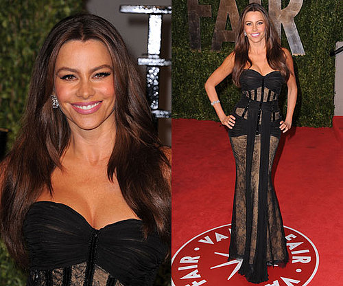 Sofia Vergara Vanity Fair Oscars Party 2011