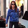 Pictures of Ashley Greene Arriving in Vancouver to Film Breaking Dawn