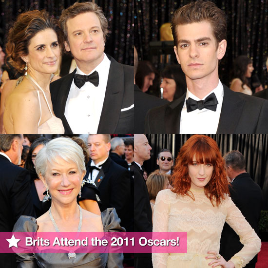 Pictures of the British Celebs on the Red Carpet at the Oscars 2011