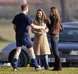 In 2006, Kate and Pippa joined William after he played the an old boys match at Eton College.
