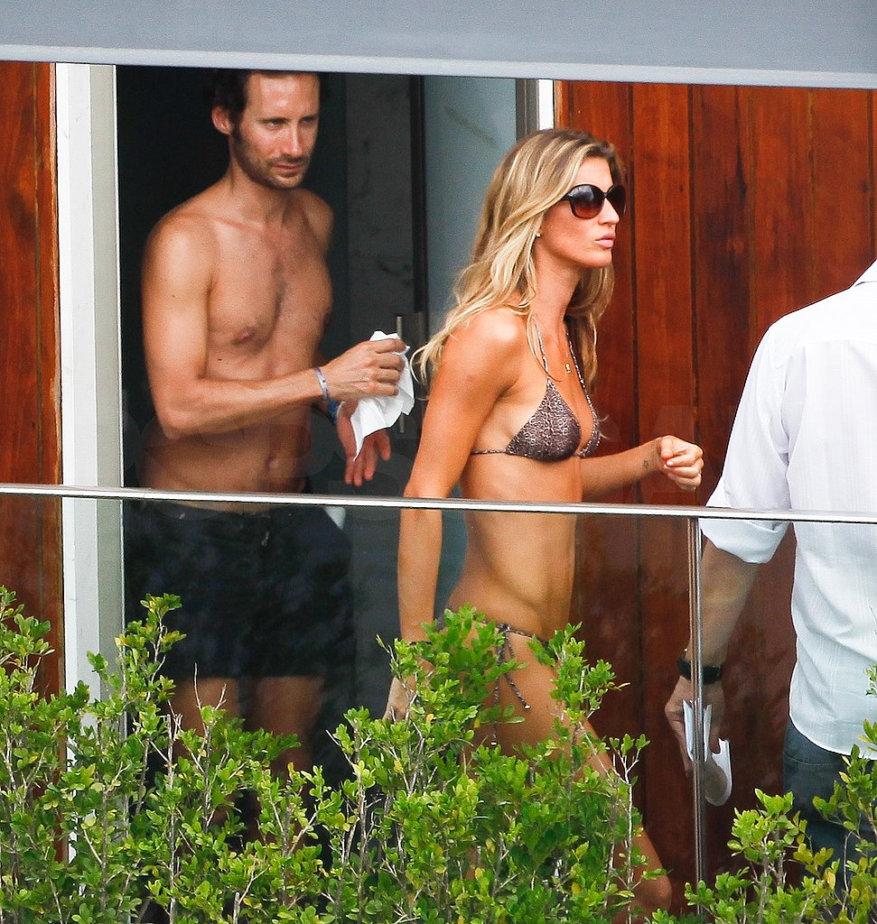 Gisele Bundchen Breaks Out a Bikini While on Vacation in Rio!
