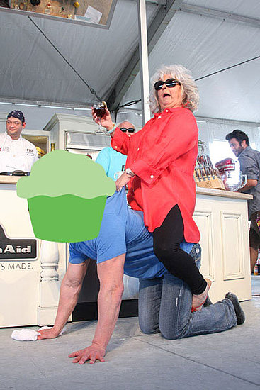 Guess Who Paula Deen Is Riding at the 2011 South Beach Wine and Food Festival