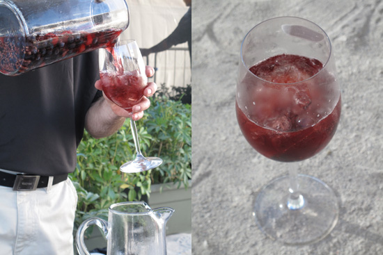 The Cosmopolitan's Berry Sangria